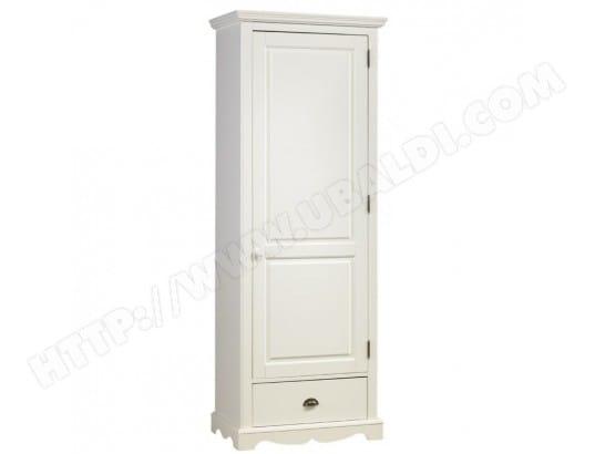 beaux meubles pas chers armoire bonnetiere blanche de style anglais 40201