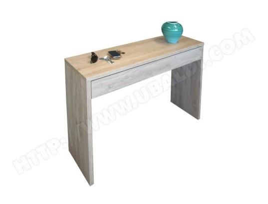 price factory meuble d entree console arena coloris chene meuble design pour votre entree ma 76ca182meub argt2