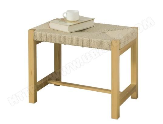 sobuy fsr69 n banc a chaussures design banquette meuble d entree siege en corde tressee fsr69 n