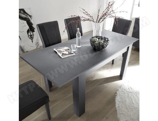nouvomeuble table a manger extensible 140 cm grise castelli ma 82ca492tabl pgx4n