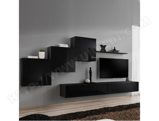 kasalinea meuble tv suspendu noir duccio 4 ma 91ca494meub f1yxq