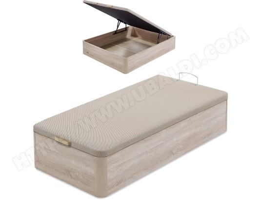 flex sommier 90 x 200 lit coffre flex 90x200cm naturel