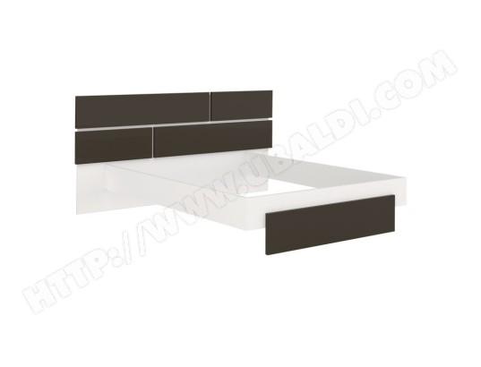 tousmesmeubles cadre tete de lit 140 190 gris anthracite blanc florine l 220 x l 198 x h 40 102 ma 46ca186cadr cawn1