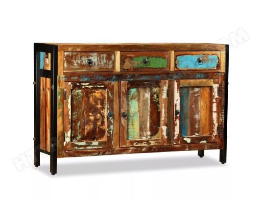 icaverne joli armoires et meubles de rangement edition basseterre buffet bois de recuperation massif 120 x 35 x 76 cm ma 78ca182joli mh51p