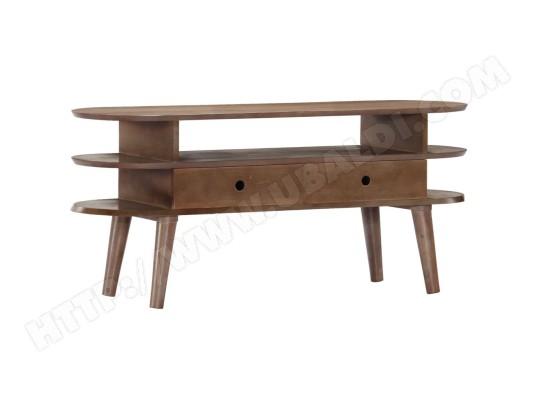 icaverne admirable meubles collection stockholm meuble tv 110 x 35 x 50 cm bois d acacia solide ma 78ca487admi 97ilb