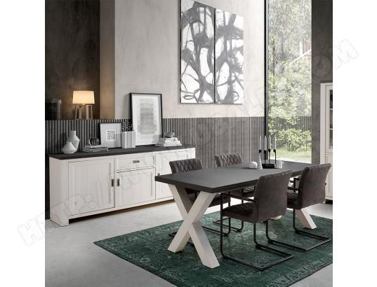 nouvomeuble salle a manger blanc et gris contemporaine etienne ma 82ca492sall e7zq1