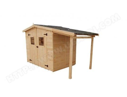 habrita habrita abri en panneaux de bois avec bucher 3 70 2 08 m ma 40ca452habr uwqmx