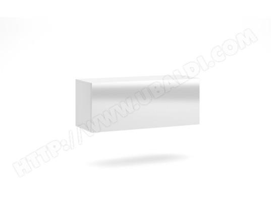 vivaldi vivaldi meuble tv vivo vi 1 100 cm blanc mat blanc brillant led style moderne ma 54ca487viva 9fc1t