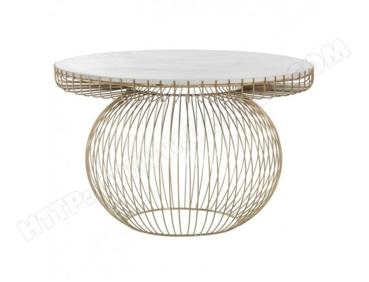 tousmesmeubles table basse ronde marbre metal dore rufisque l 79 x l 79 x h 51 ma 46ca182tabl mvilk
