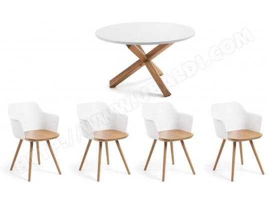 lf ensemble table et chaises ensemble table nori chaises klam