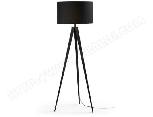 lf lampadaire salon uzagi noir