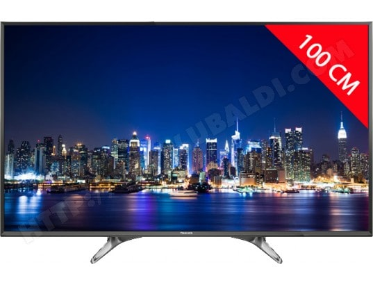 panasonic tv led 4k 100 cm tx40dx600e