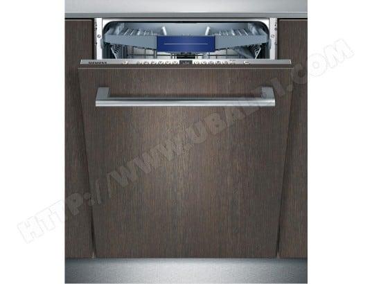 siemens lave vaisselle tout integrable 60 cm sx736x03me