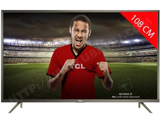 tcl tv led 4k 108 cm u43p6046