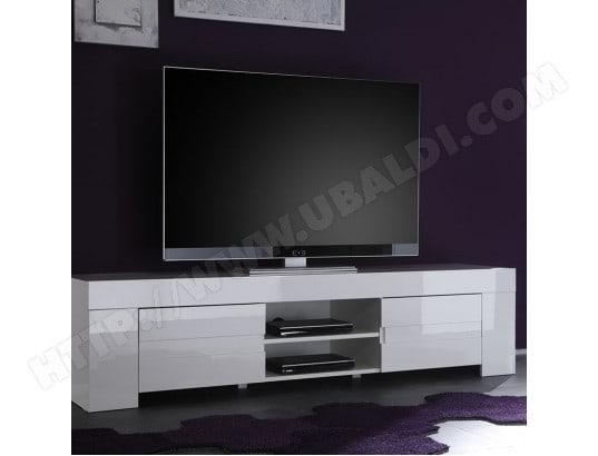 nouvomeuble grand meuble tv design blanc laque lima ma 82ca487gran athc7