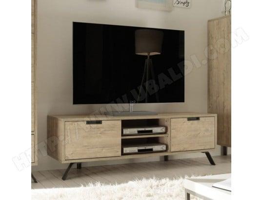 nouvomeuble petit meuble tv moderne couleur bois clair jace ma 82ca487peti l4pbo