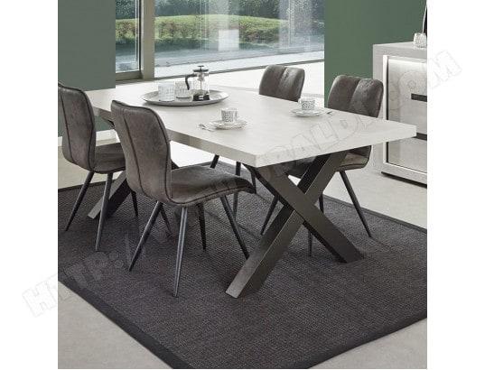 nouvomeuble grande table contemporaine couleur chene gris lucas ma 82ca492gran i47jz