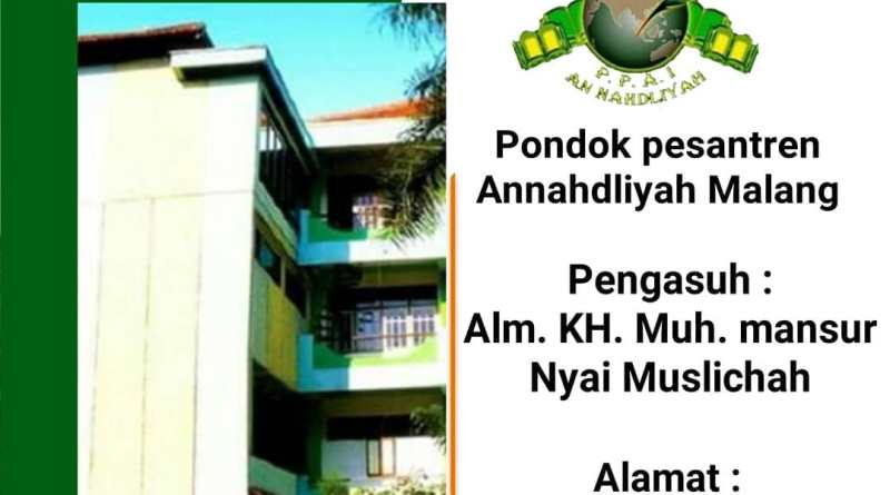 Pondok Pesantren An-Nahdliyah Malang Media Santri NU