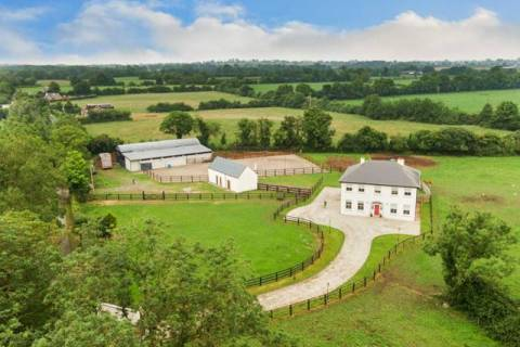 Residence on approx. 5.77 acres, Clonaugh, Thomastown, Enfield, Co. Kildare