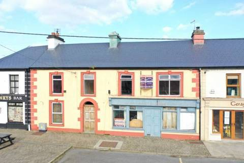 The Square, Mountbellew Town, Co. Galway