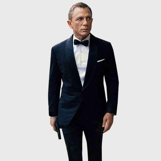 The iconic James Bond look