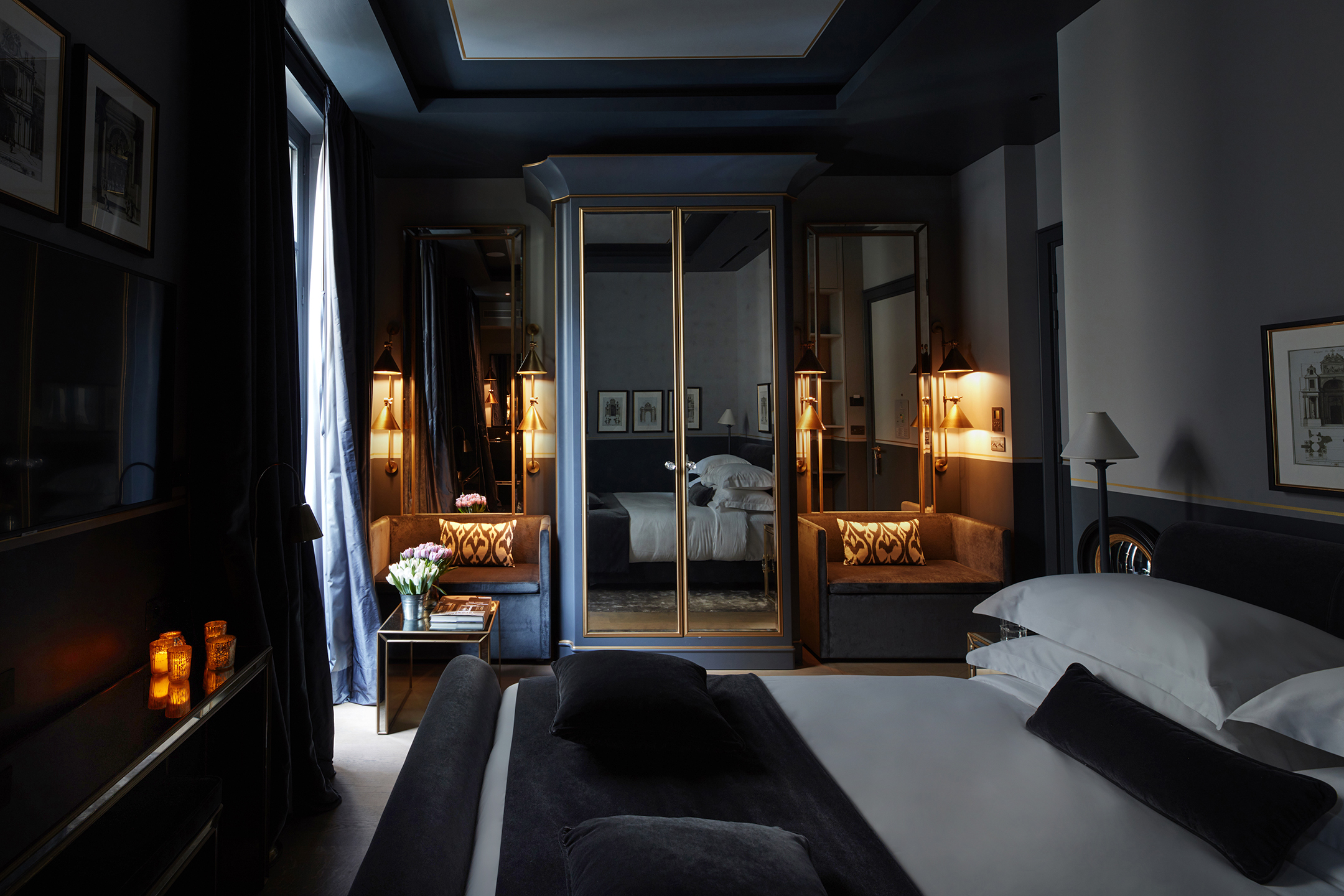 anouska hempel designs monsieur george a new 5 star luxury boutique hotel in paris