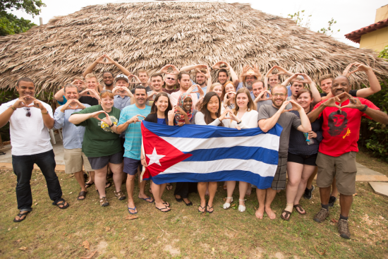 UO Students and instructors - Varadero, Cuba