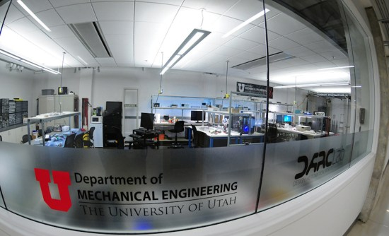 The University of Utah DARC Lab provided a safe flying zone for students.