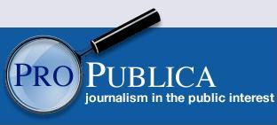 ProPublica logo. Photo by the Knight Foundation on Flickr and reused here with Creative Commons license.