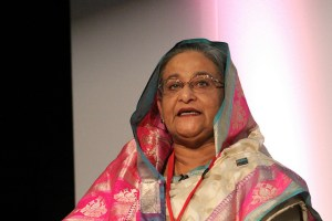 Banladesh Prime Minister Sheikh Hasina. Photo by Global Panorama> on Flickr and used here with Creative Commons license.
