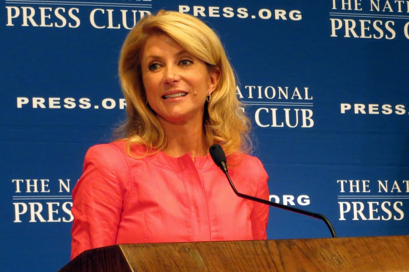 Wendy Davis in 2013. Photo by Alan Kotok on Flickr and used here with Creative Commons license.