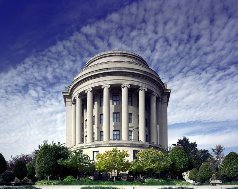 The Federal Trade Commission building. Public domain photo by Carol M. Highsmith.