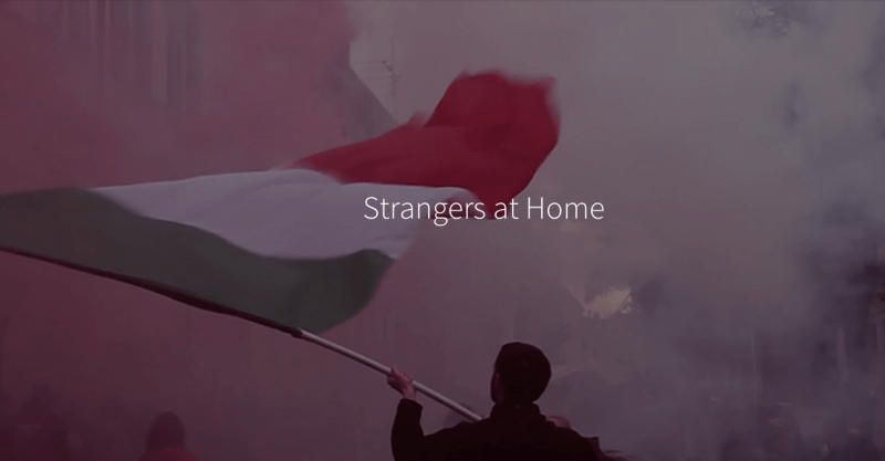 "A screenshot from the Global Reporting Centre's project ""Strangers at Home."""