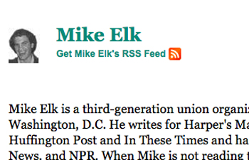Mike Elk: Dismissal Signals Change in Direction for HuffPost