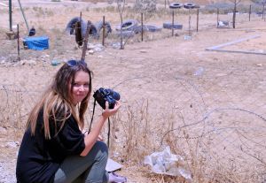 Bianca Britton of Queensland, Australia explored Palestinian refugee camps in the West Bank for her final project.
