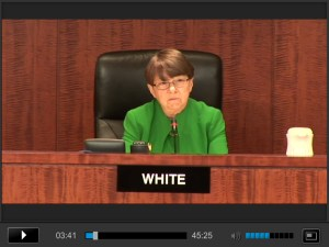 SEC Chair Mary Jo White on 23 October 2013