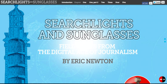 The e-textbook used in J4462, Emerging Technologies at Missouri School of Journalism