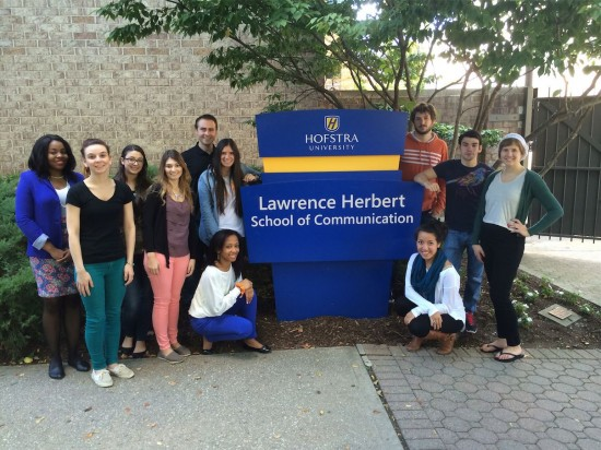 The Social Elements team at Hofstra University