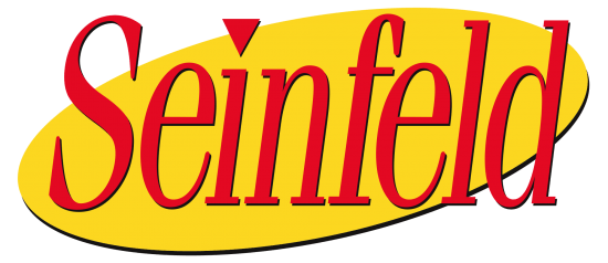 Seinfeld has become one of the most popular shows in television history, and that required looking past the data at hand claiming what might be popular. Logo courtesy of Wikimedia Commons.