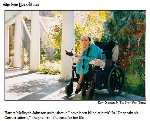 harriet johnson in NY Times