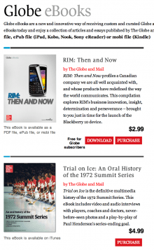how to cancel globe and mail subscription