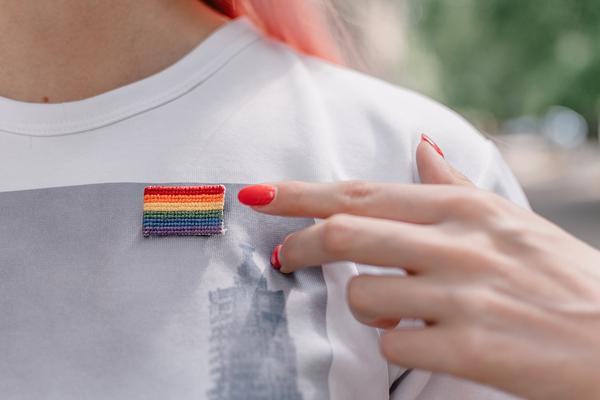 Rainbow patch.