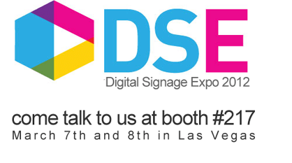 Come to talk to us at the DSE 2012