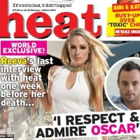 Heat South Africa, 28 February 2013 (LAST INTERVIEW WITH REEVA STEENKAMP)