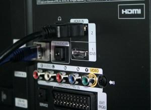 HDMI aansluiting op de TV