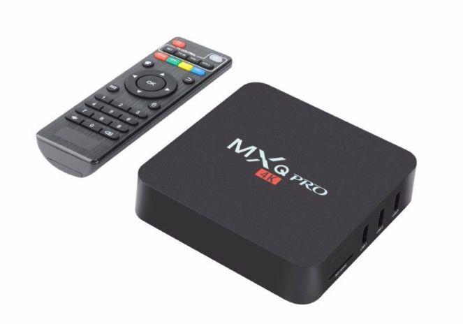 The MediaStax MXQ Pro box and remote