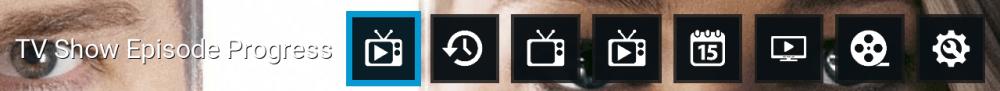 my trakt menu incursion buttons