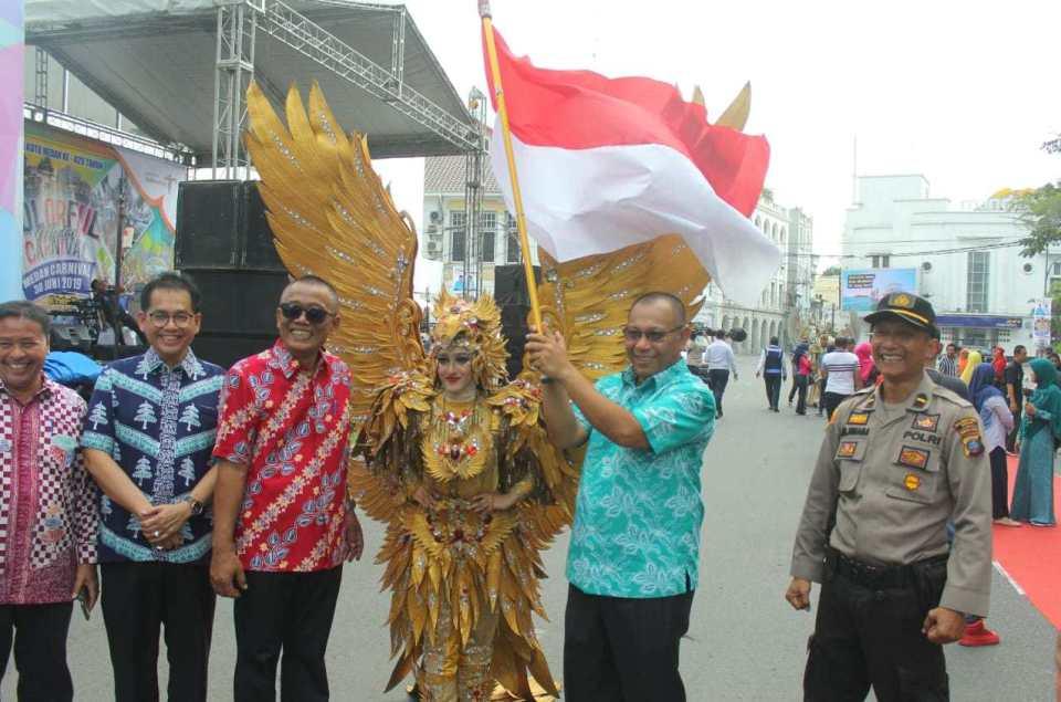 HUT ke-429 Kota Medan, Wakil Walikota Ajak Masyarakat Selalu Gembira