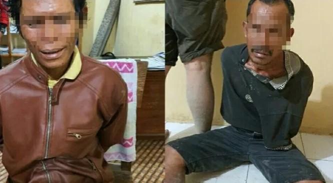 Polisi Ringkus 2 Pelaku Pembunuhan Wartawan dan Eks Caleg di Labuhanbatu