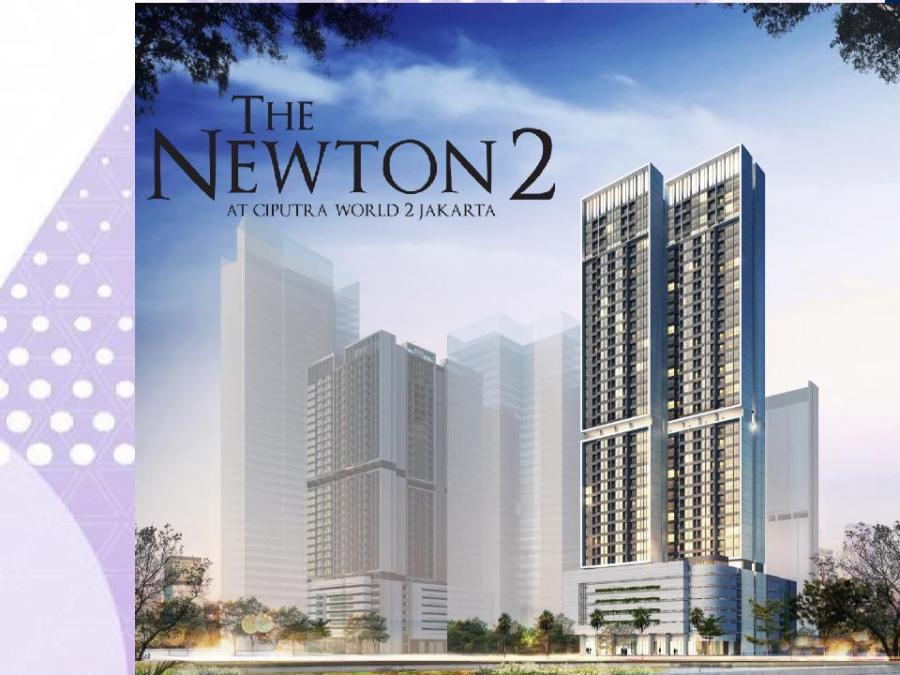 The Newton 2, Produk High Rise Langka Seharga Rp1 Miliar